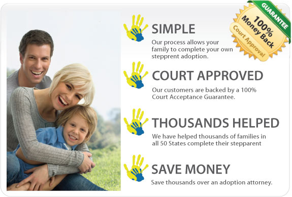 Step parent adoption to adopt your stepson or stepdaughter in Delaware