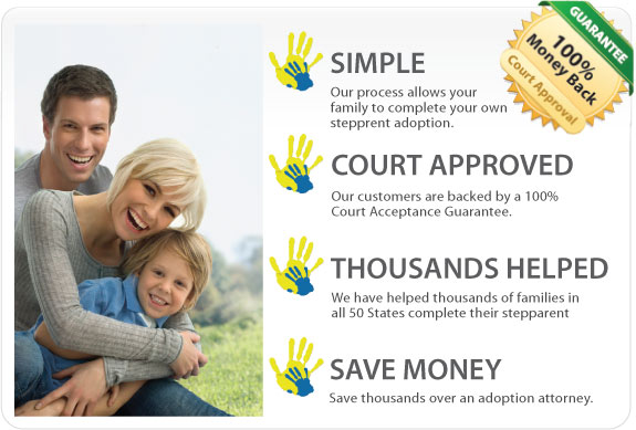 Stepparent adoption documents